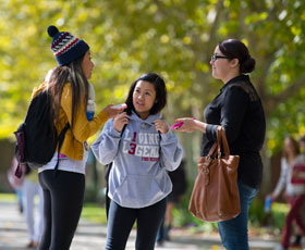 Cosumnes River College students; image courtesy of the California Community Colleges Chancellor's Office