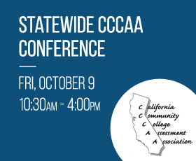 CCC Assessment Association Fall 2015 Conference