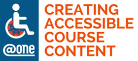 One For Training: Creating Accessible Course Content