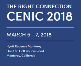 CENIC 2018 The Right Connection, March 5-7, 2018, Monterey, CA