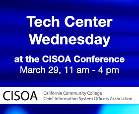 Tech Center Wednesday at CISOA-3CBG 2017