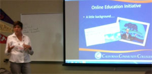 Pat James, Executive Director, CCC Online Education Initiative