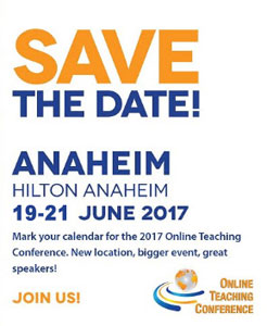 Online Teaching Conference, June 19-21, 2017