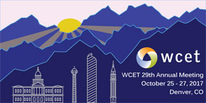 WCET 29th Annual Meeting, Oct. 25-27, 2017